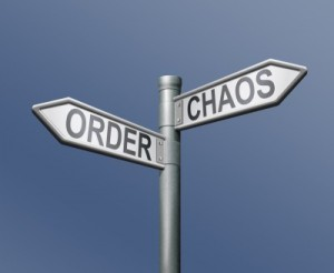 Order v. Chaos in a law office
