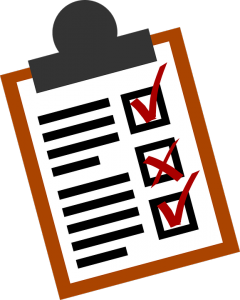 Attorneys use lists to improve lawyer time management